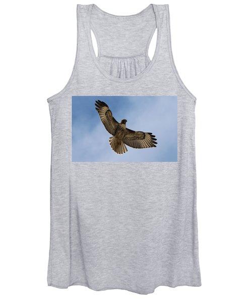 Hawk In Flight  Women's Tank Top