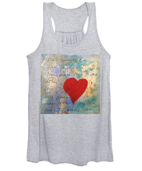 Heart #9 Women's Tank Top