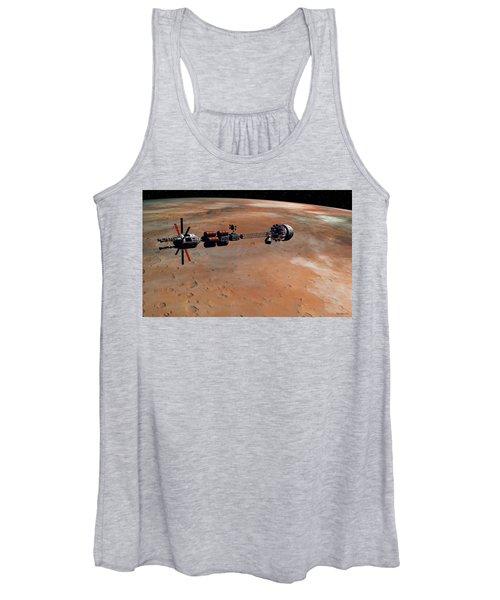 Hermes1 Orbiting Mars Women's Tank Top