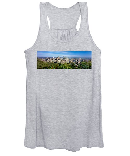 High Angle View Of A Cityscape, Parc Women's Tank Top