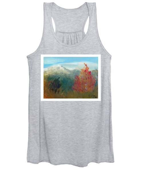 High Country View Women's Tank Top