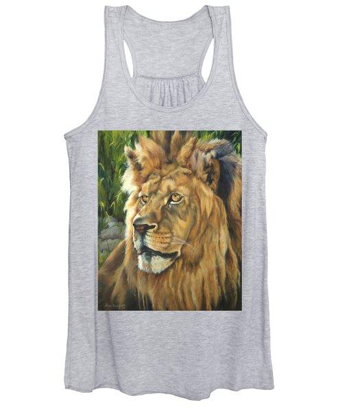 Him - Lion Women's Tank Top