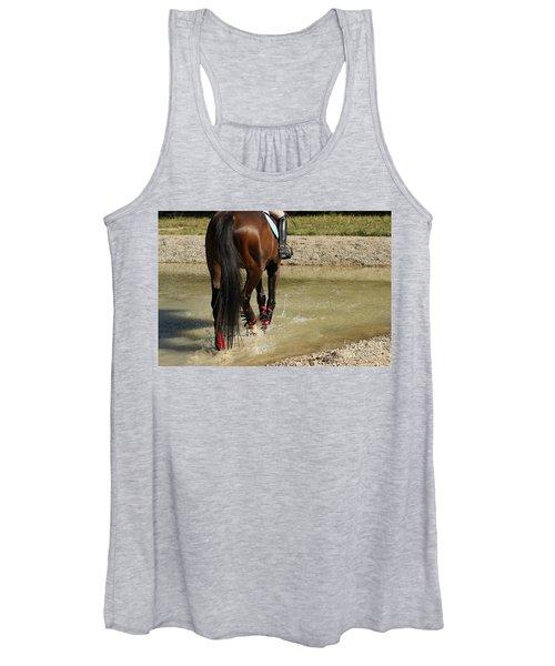 Horse In Water Women's Tank Top