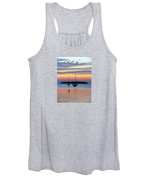 Horsehoe Island Sunset Women's Tank Top