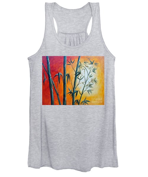 Hot Bamboo Days Women's Tank Top