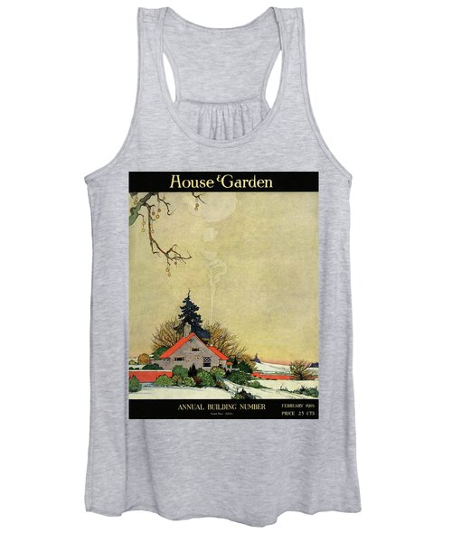 House And Garden Annual Building Number Cover Women's Tank Top