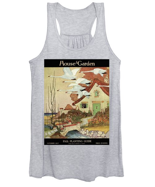 House And Garden Fall Planting Guide Women's Tank Top