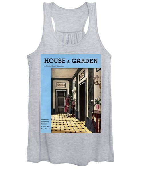 House And Garden Household Equipment Number Women's Tank Top