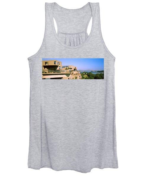 Housing Complex With A Bridge Women's Tank Top