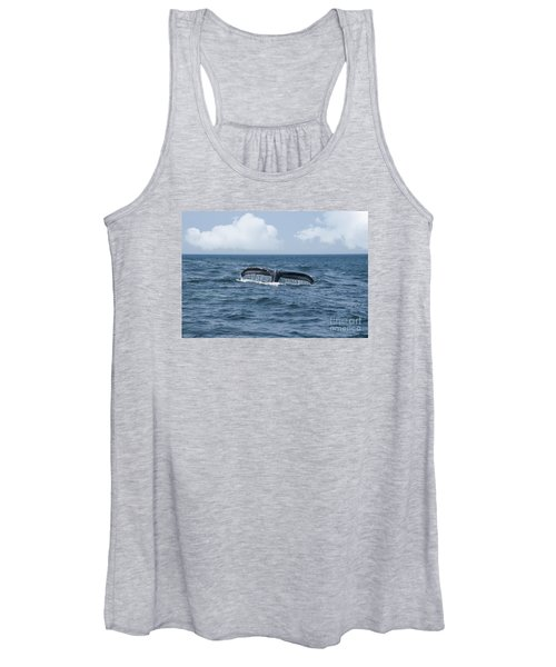 Humpback Whale Fin Women's Tank Top