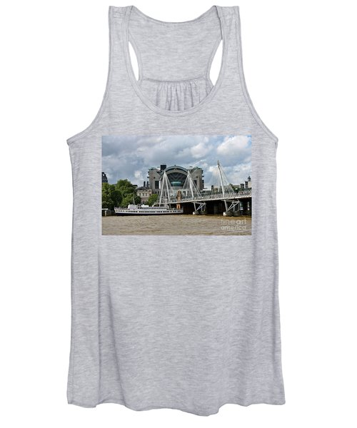 Hungerford Bridge And Charing Cross Women's Tank Top