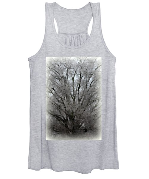 Ice Sculpture Women's Tank Top