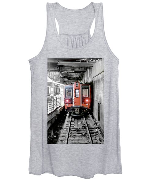 I'm Leaving On A Train Women's Tank Top