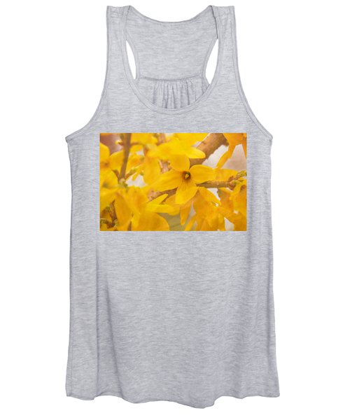 Impressionist Forsythia Women's Tank Top