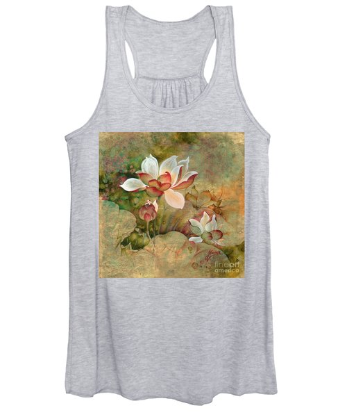 In The Lotus Land Women's Tank Top