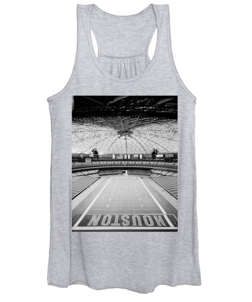 Interior Of The Old Astrodome Women's Tank Top
