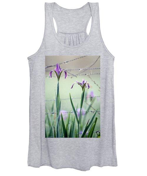 Irises2 Women's Tank Top