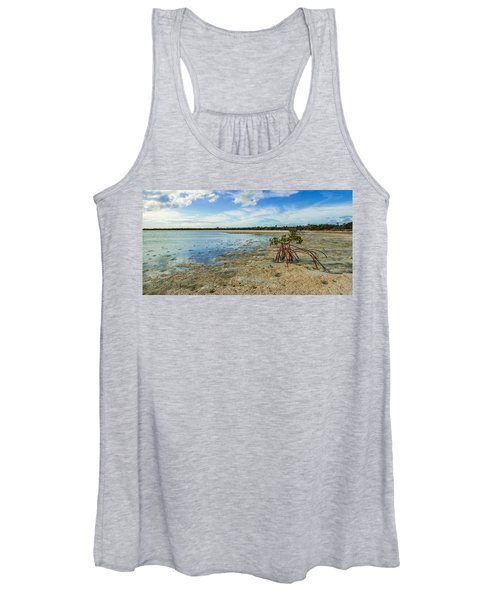 Isolated Women's Tank Top