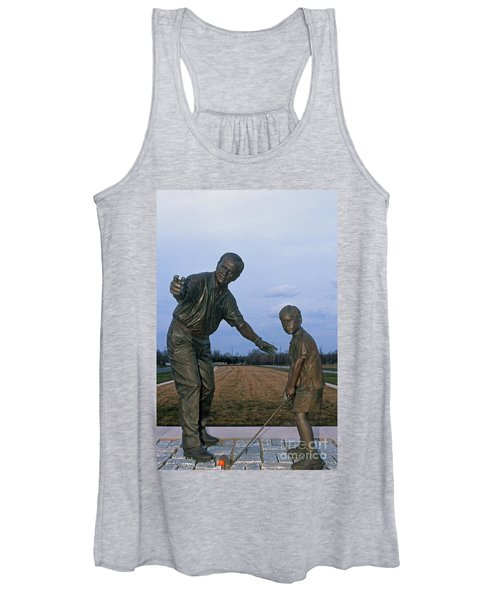 36u-245 Jack Nicklaus Sculpture Photo Women's Tank Top