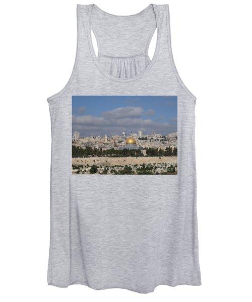 Jerusalem Old City Women's Tank Top