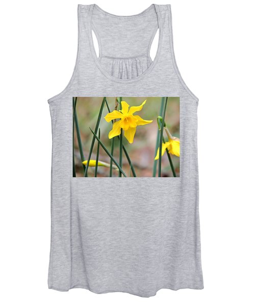 Johnny-jump-up Women's Tank Top