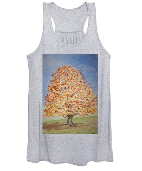 Jolanda's Maple Tree Women's Tank Top