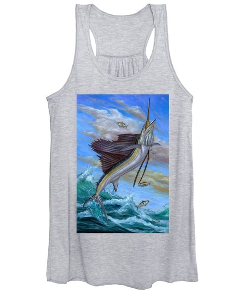 Jumping Sailfish Women's Tank Top