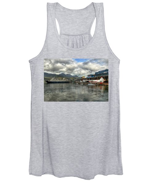 Juneau's Hangar On The Wharf Women's Tank Top