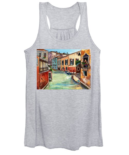 Just In The Neighborhood Women's Tank Top