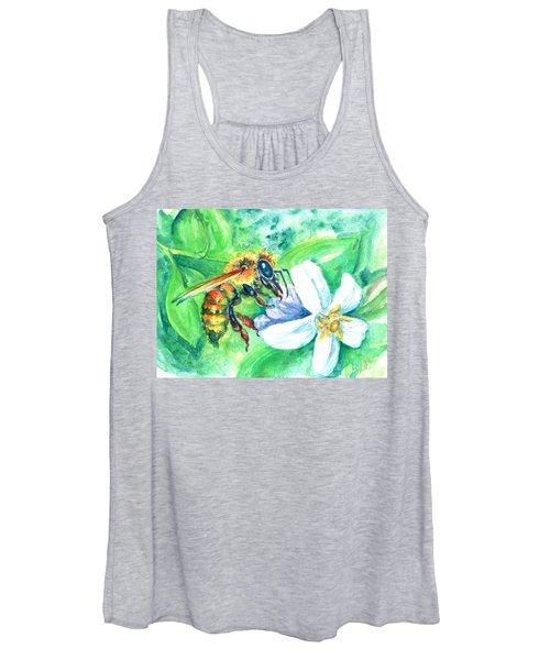 Key Lime Honeybee Women's Tank Top