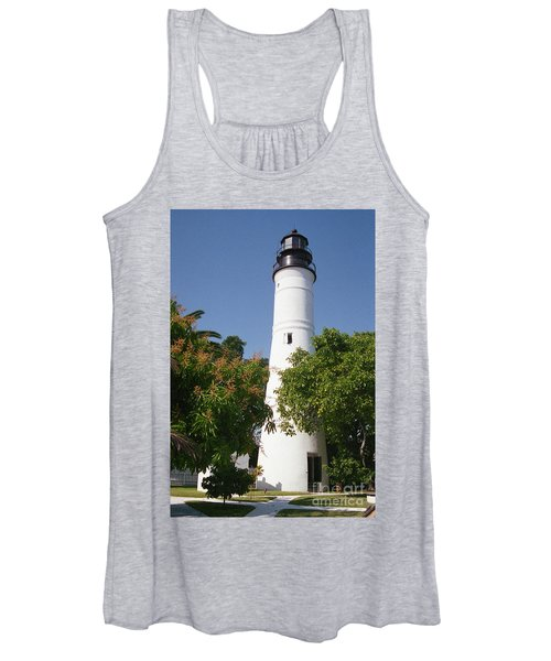 Key West Lighthouse Women's Tank Top