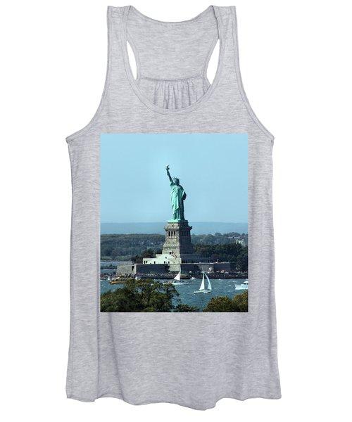Lady Liberty Women's Tank Top