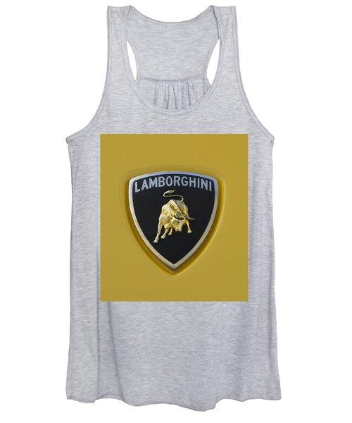 Lamborghini Emblem 2 Women's Tank Top