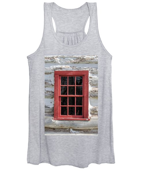 Landow Cabin Window Women's Tank Top