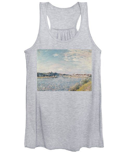 Landscape, 1888 Oil On Canvas Women's Tank Top