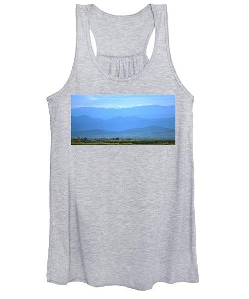 landscape of North CA Women's Tank Top