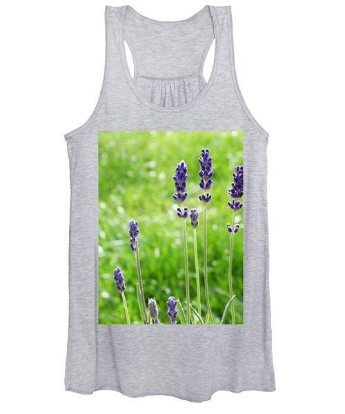 Lavender Women's Tank Top
