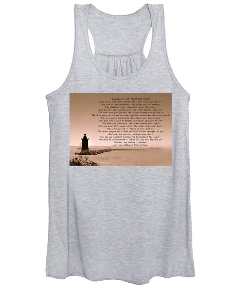 Legacy Of An Adopted Child Women's Tank Top