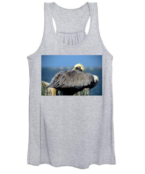 Let Sleeping Pelicans Lie Women's Tank Top