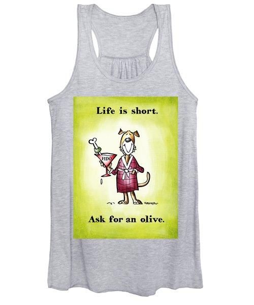 Life Is Short Women's Tank Top
