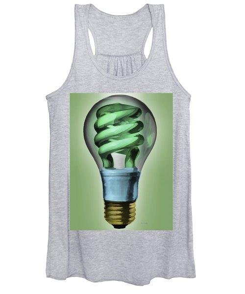 Light Bulb Women's Tank Top