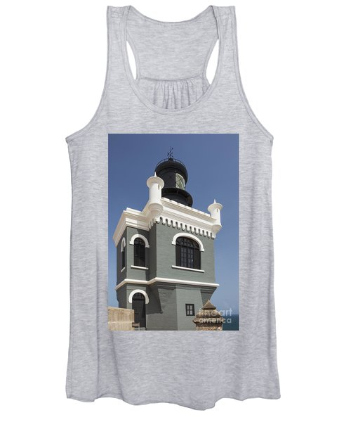 Lighthouse At El Morro Fortress Women's Tank Top