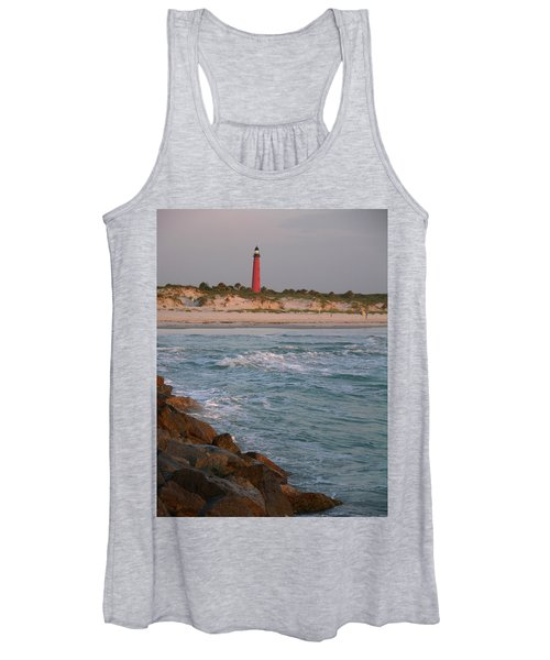 Lighthouse From The Jetty 2 Women's Tank Top