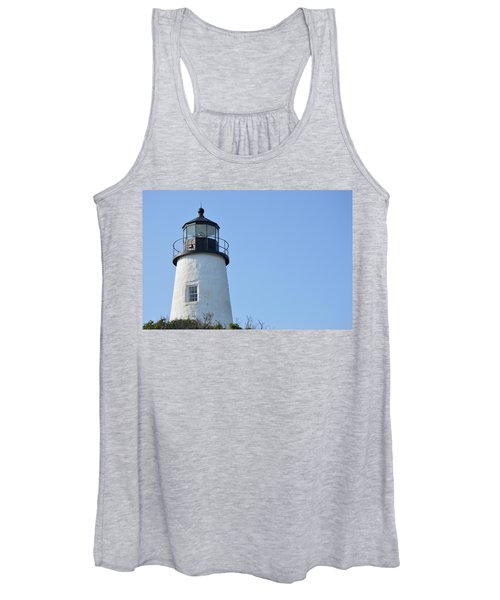 Lighthouse On Clear Day Women's Tank Top