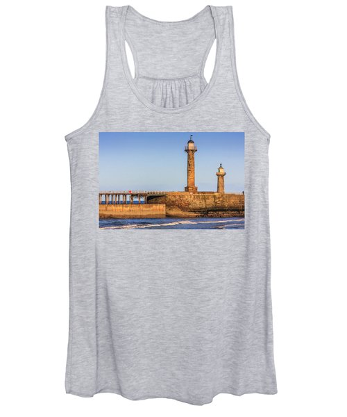 Lighthouses On The Piers Women's Tank Top