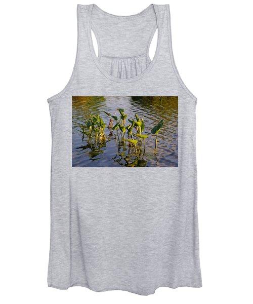 Lillies In Evening Glory Women's Tank Top