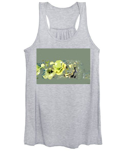Lily Pads - Deconstructed Women's Tank Top