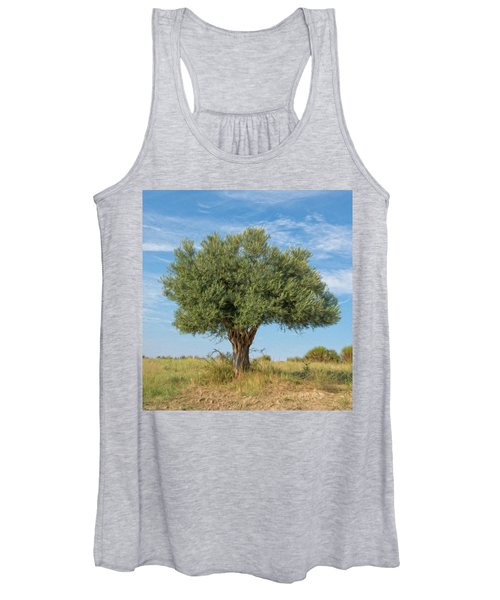 Lonely Olive Tree Women's Tank Top