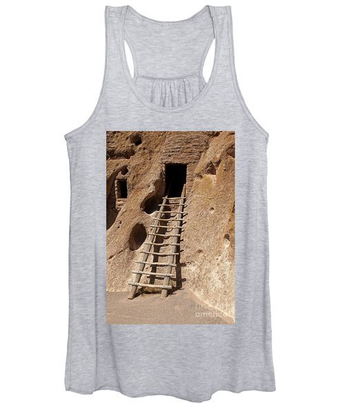 Long House Front Door Bandelier National Monument Women's Tank Top