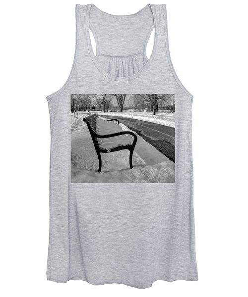 Women's Tank Top featuring the photograph Longing For Spring by Michael Colgate